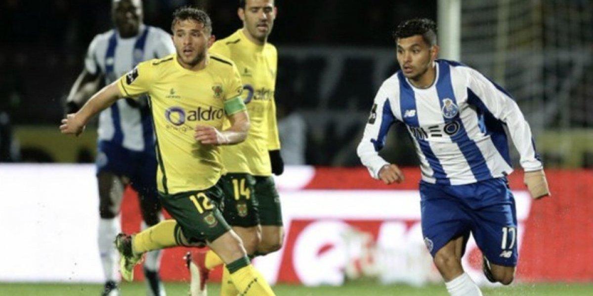 'Tecatito' fue el único mexicano que jugó en la derrota del Porto