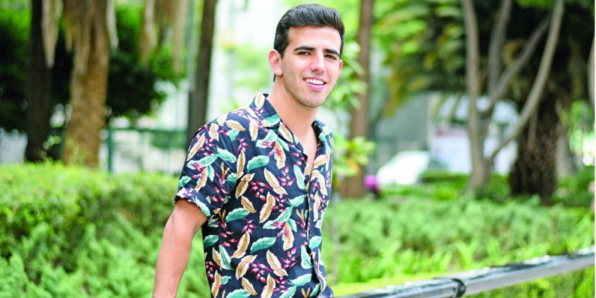 Sebastián Treviño se baja de los escenarios de teatro para hacer TV en Tres Milagros