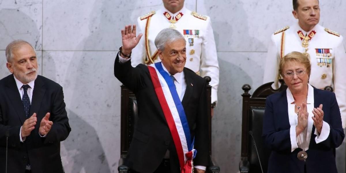 Piñera asume por segunda vez como presidente de Chile