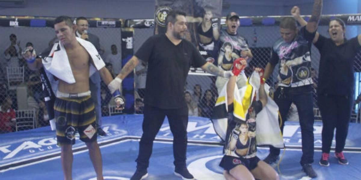 Lutadora transexual vence homem em evento de MMA no Amazonas