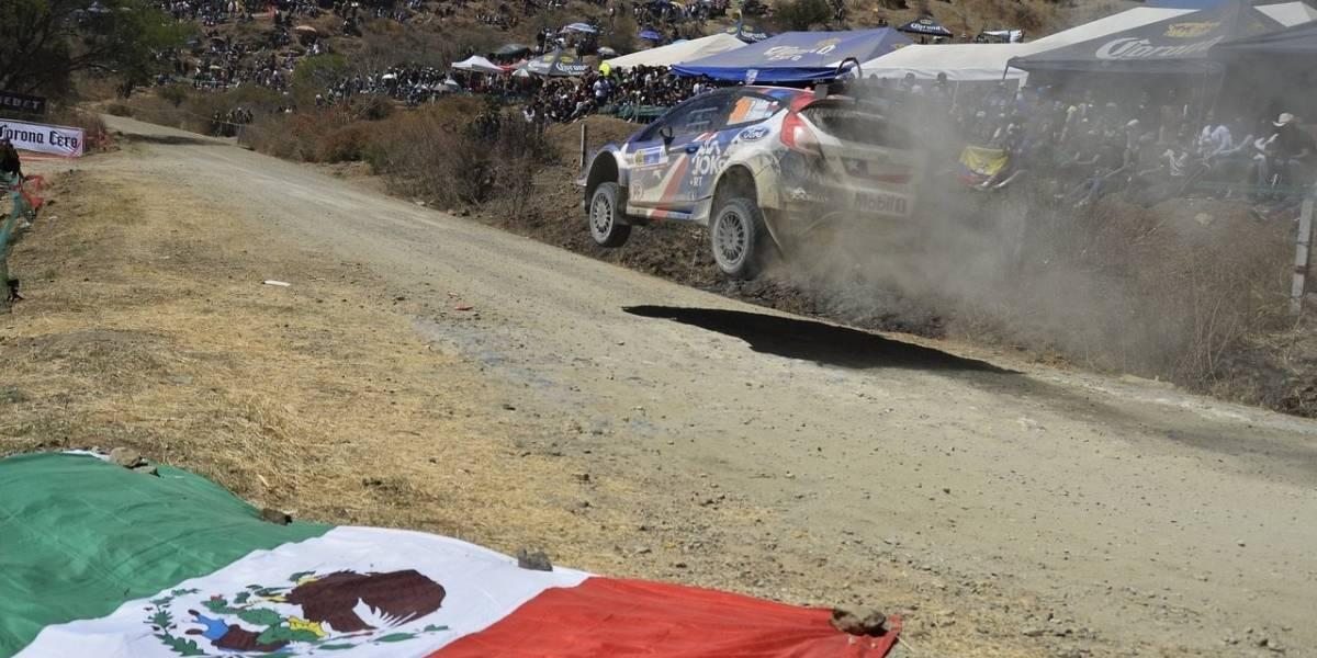 Heller se luce en el Rally de México