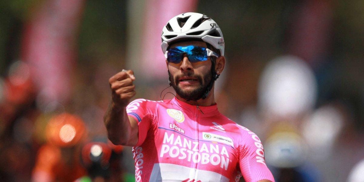 ¡Dolor! Grave lesión de Fernando Gaviria tras su caída en la Tirreno Adriático