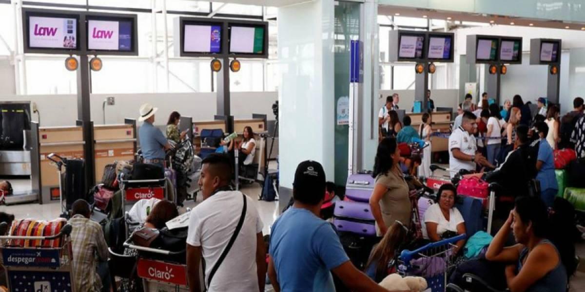 DGAC suspende licencia de operador aéreo a LAW