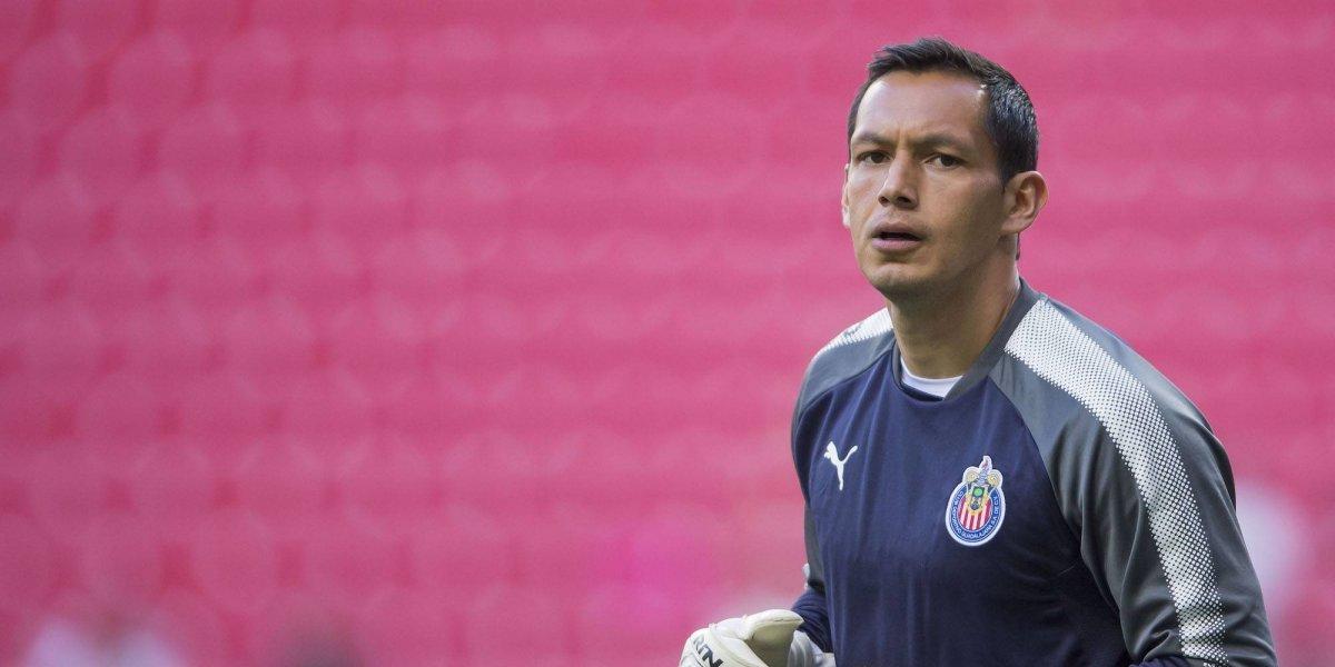 Rodolfo Cota, molesto con la afición de Chivas