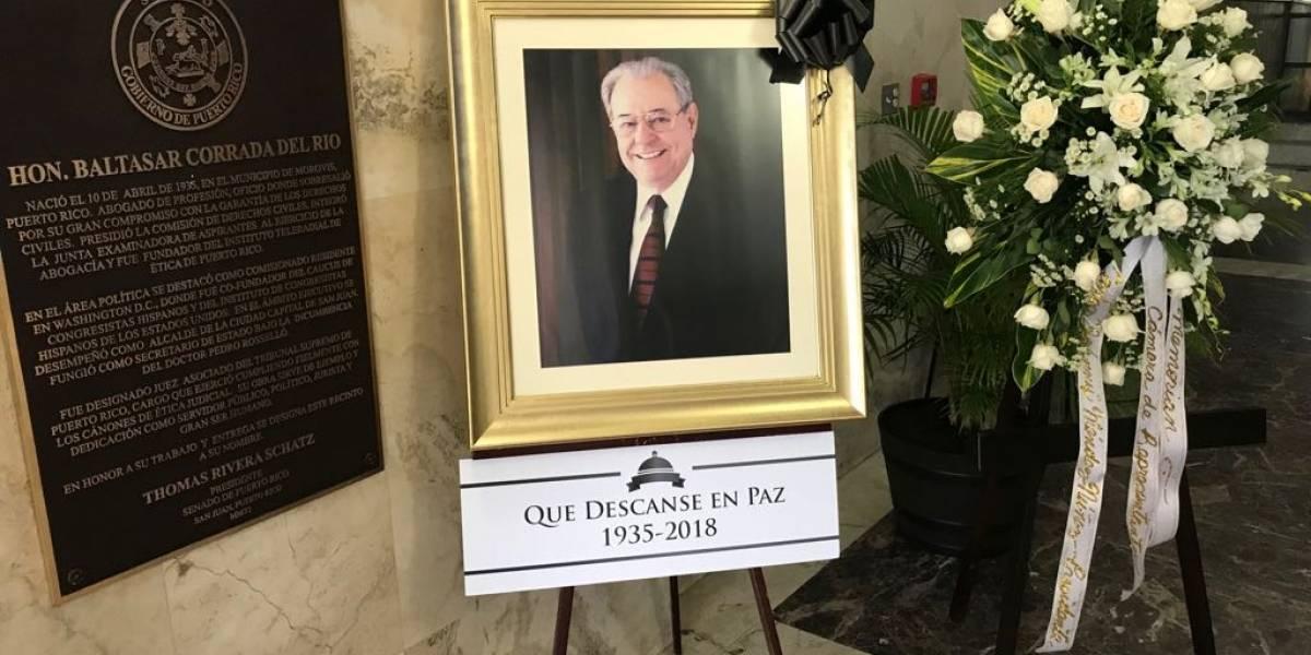 Todos los partidos se unen para conmemorar a Baltasar Corrada en la Cámara de Representantes