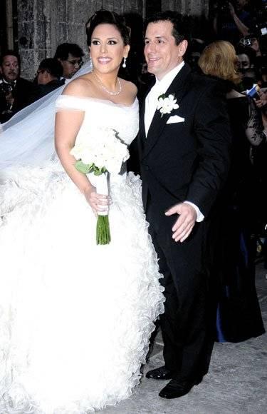 Angélica Vale y Otto Padrón boda