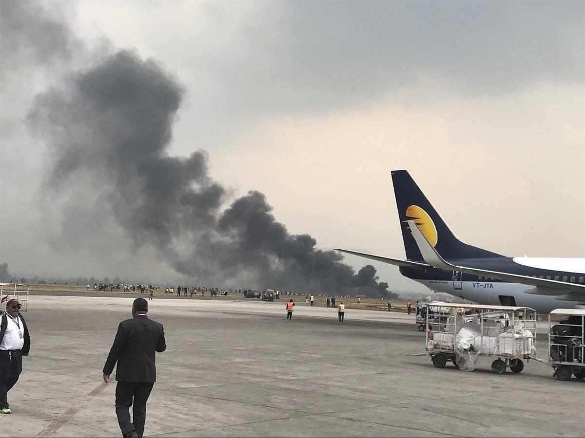 Accidente de avión, Nepal AP