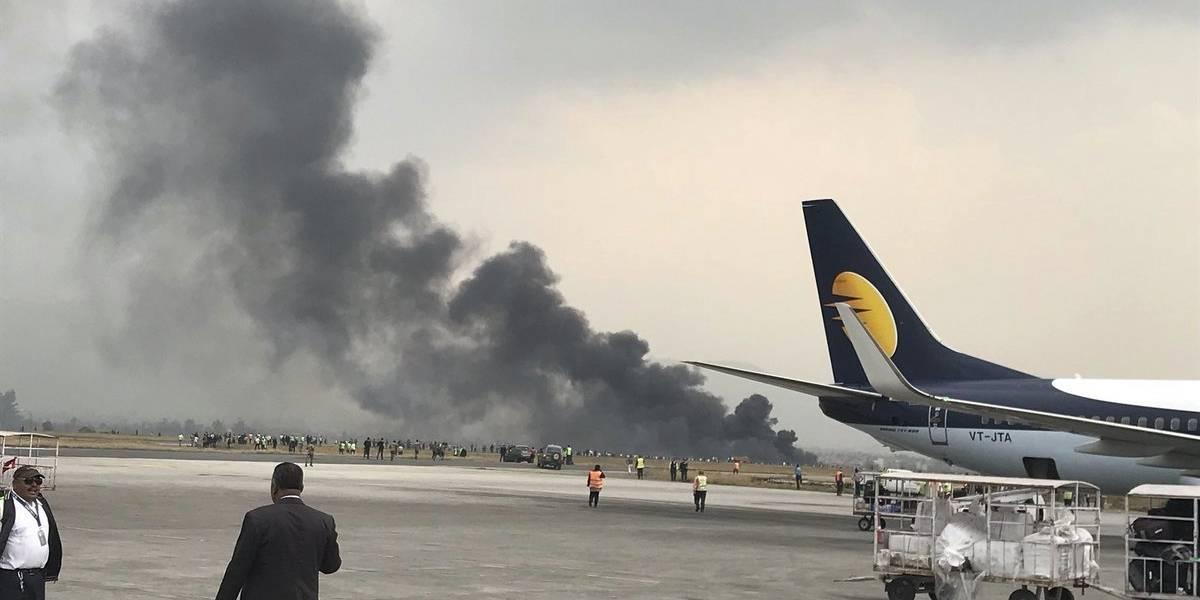 Más de 40 muertos en accidente de avión en Katmandú, Nepal