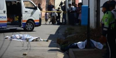 Asesinados en Santa Catarina Pinula