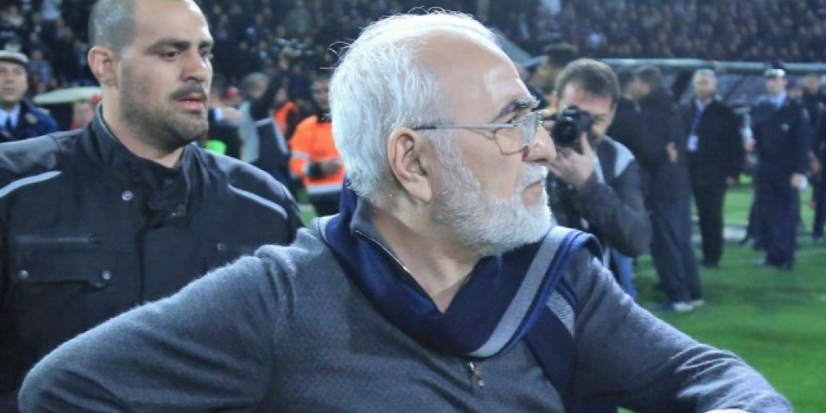 Escándalo en Grecia: Presidente del PAOK entró a la cancha con una pistola tras polémico gol anulado