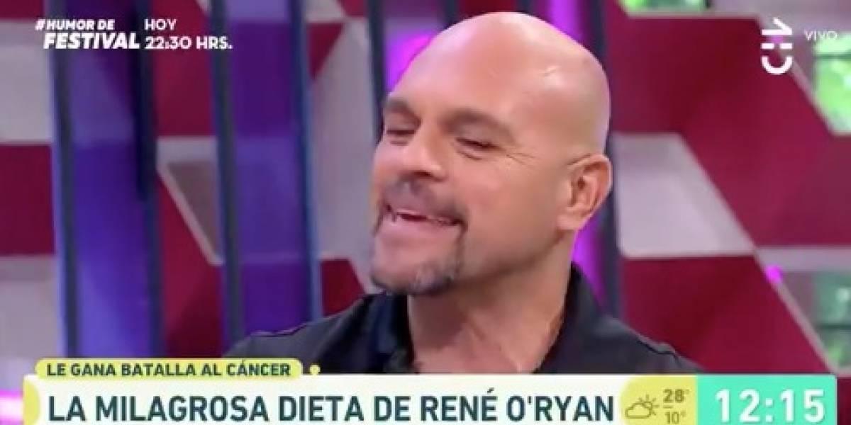 """René O'Ryan reaparece en TV: """"Yo debería haber muerto en septiembre"""""""