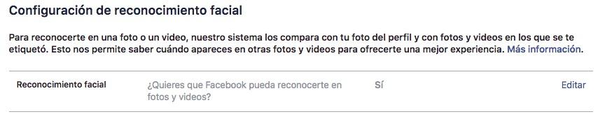 Facebook puede reconocer tu rostro; ¿cómo desactivar la función?Facebook puede reconocer tu rostro; ¿cómo desactivar la función?