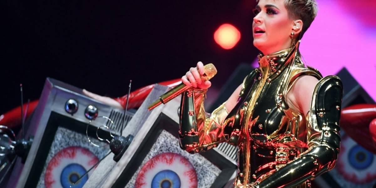 Katy Perry llega a Sony como jurado de 'American Idol'