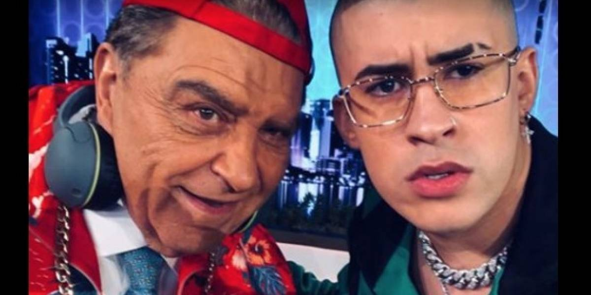 "Bad Bunny a Don Francisco: ""En persona no te ves tan viejo"""