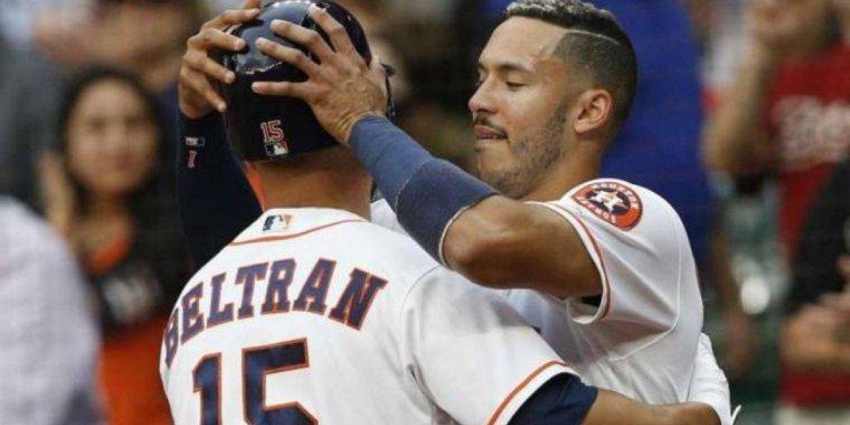 Correa y Beltrán no asistieron a la Casa Blanca con los Astros de Houston