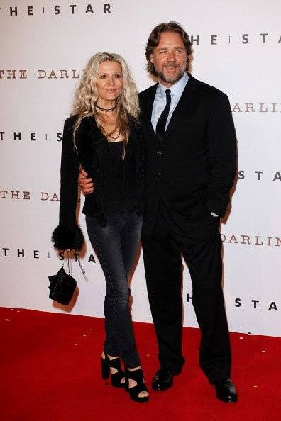 Danielle Spencer e Russell Crowe
