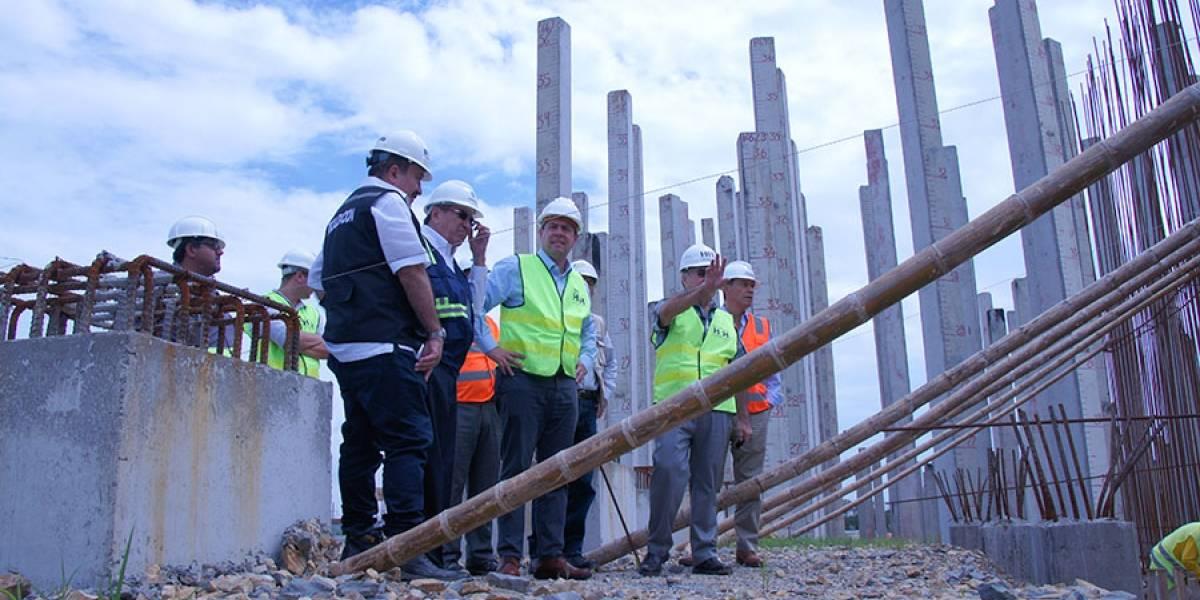 Misión del Banco Mundial visitó obra en Guayaquil