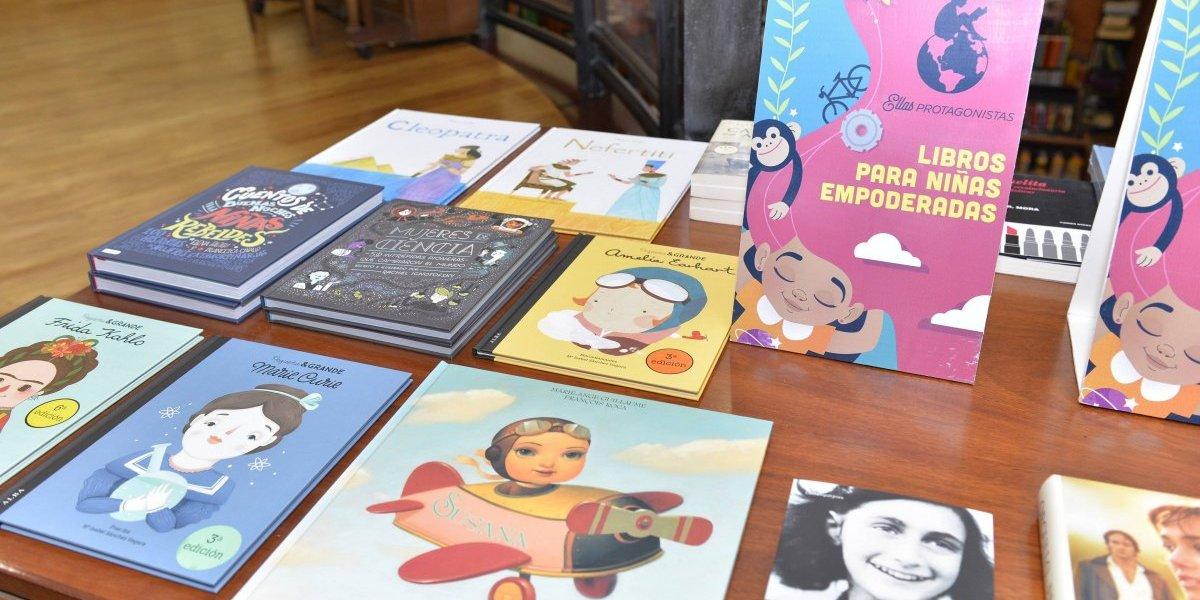 """Librería Cuesta promueve campaña """"Ellas Protagonistas"""""""