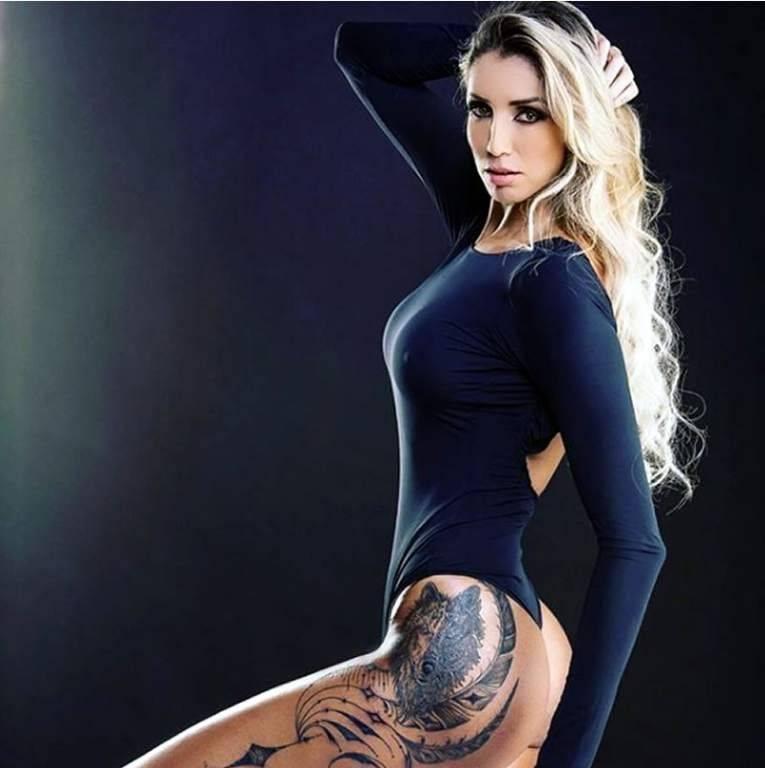 Thaísa, a atleta mais sexy do Brasil Divulgação