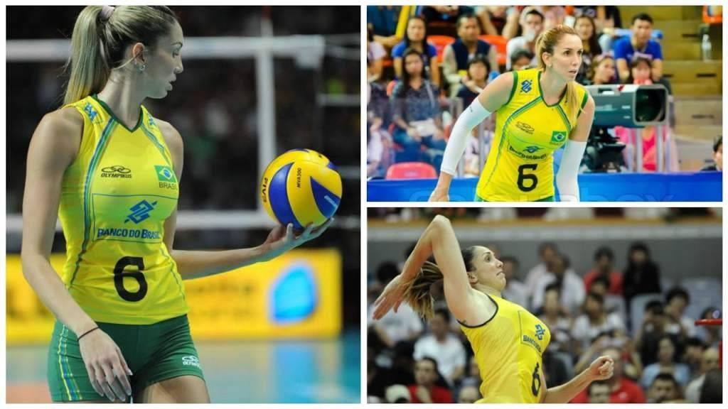 Além dos Jogos Olímpicos do Rio, ela também estava em Pequim 2008 e Londres 2012 Divulgação