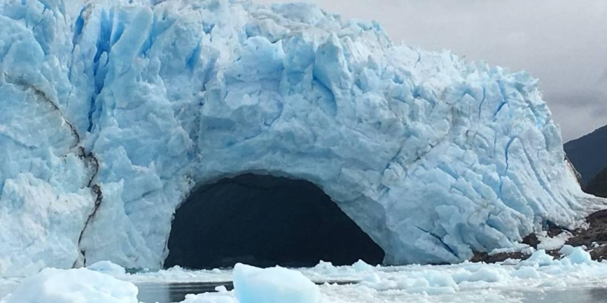 Así fue el desprendimiento del glaciar Perito Moreno de Argentina
