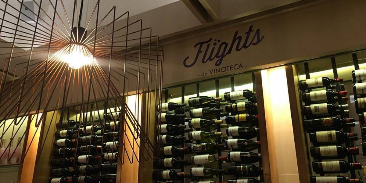El vino es el protagonista del menú en Flights de Vinoteca