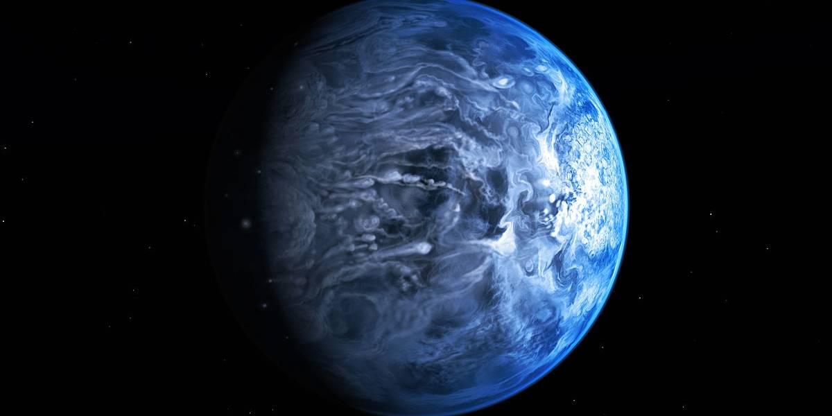 Telescópio revela água em exoplaneta