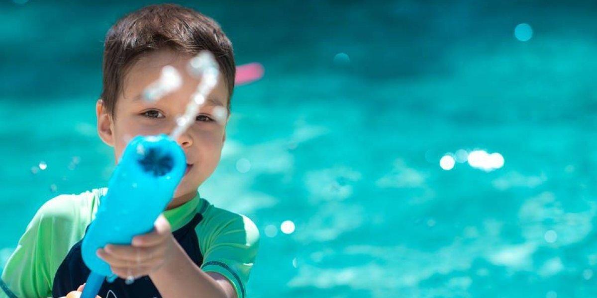 Atracciones acuáticas y juegos para toda la familia en esta Isla Encantada