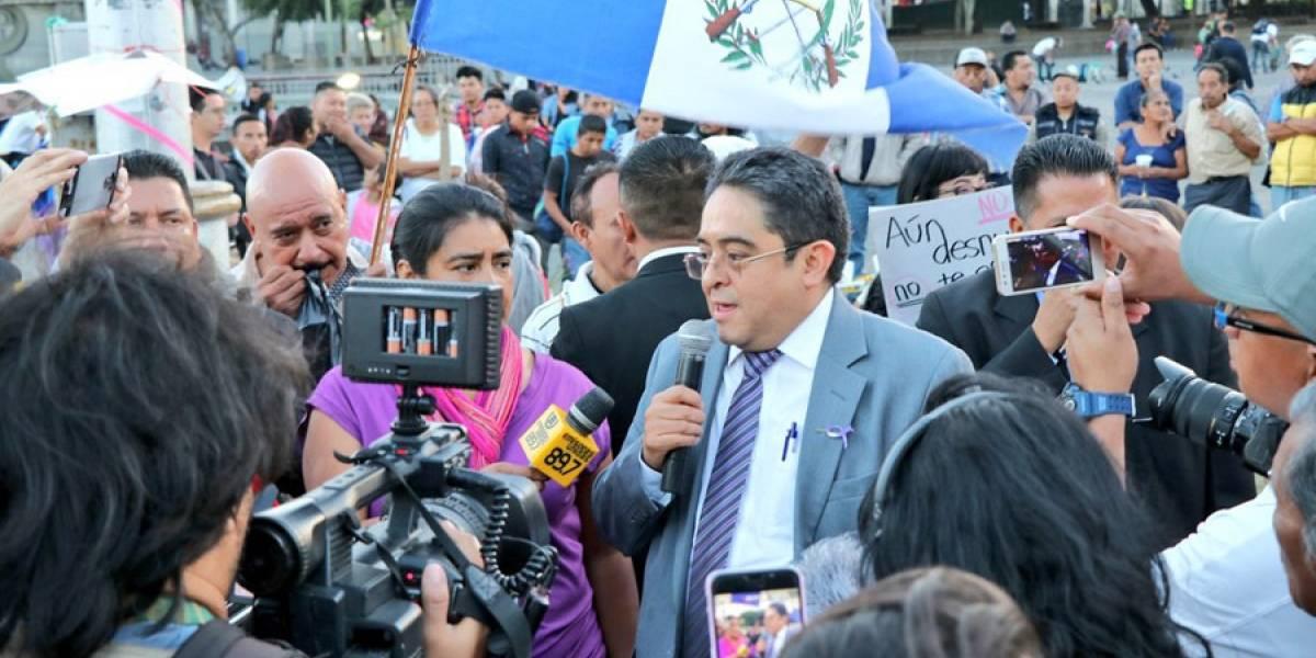 PDH lamenta que su presencia en la Plaza se haya malinterpretado