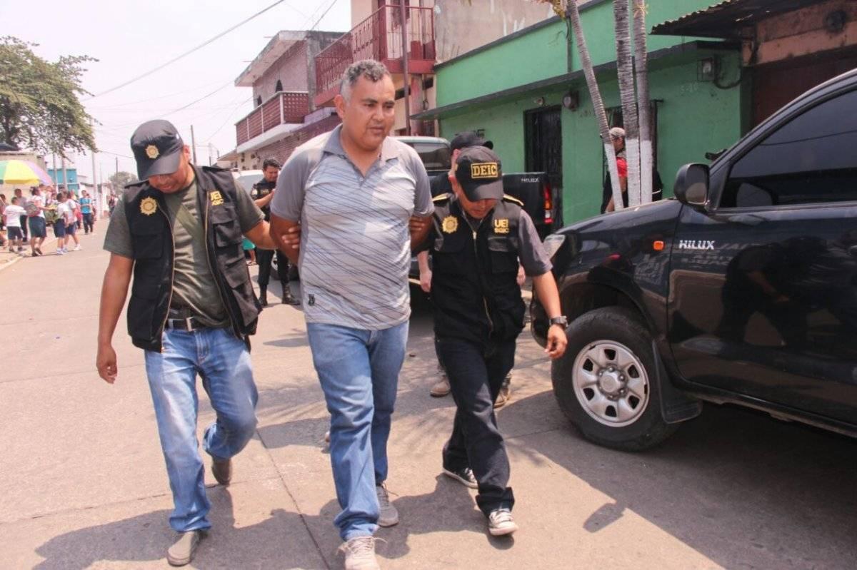 Luis Muñoz Álvarez, detenido en Escuintla por posible distribución de pornografía infantil