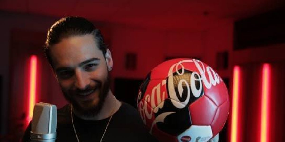Maluma, voz del himno Coca-Cola en la Copa Mundial de la Fifatm 2018 en Latinoamérica
