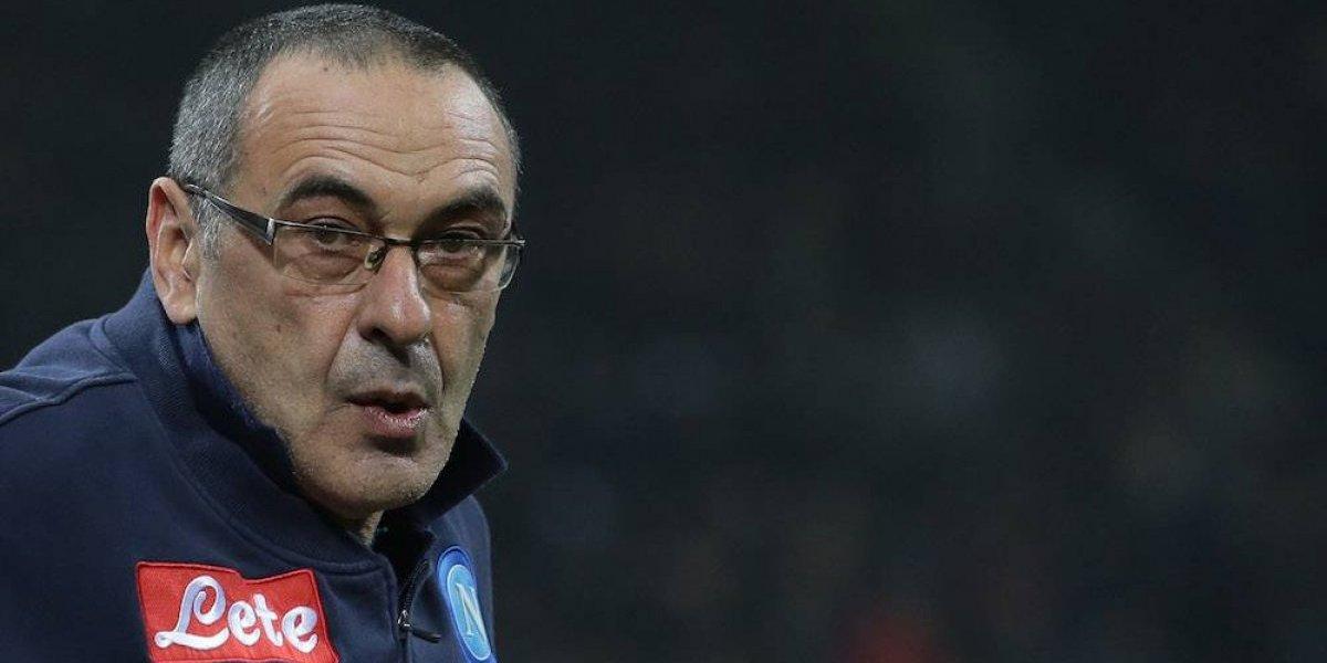 Maurizio Sarri genera controversia en Italia por respuesta machista a reportera