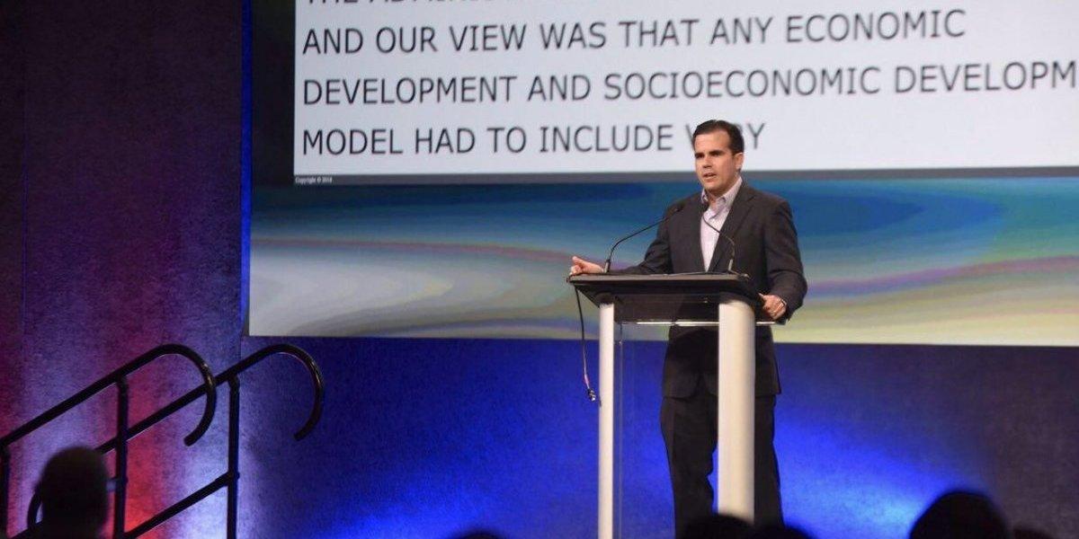 Rosselló destaca importancia de la innovación frente a retos que enfrenta Puerto Rico