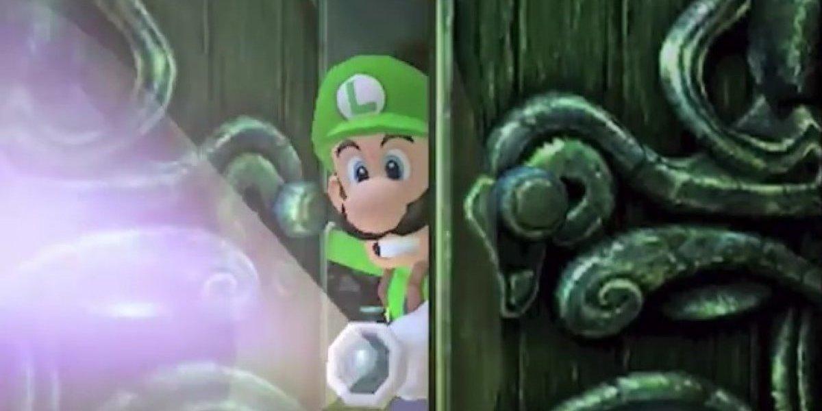 Este año llega a Nintendo 3DS el remake de Luigi's Mansion