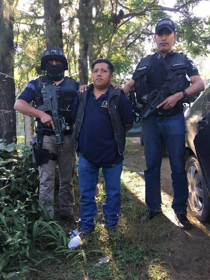 presunto secuestrador capturado en Alta Verapaz