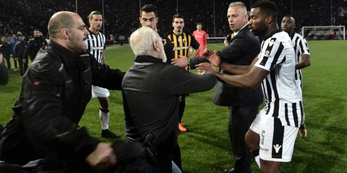 Suspenden el campeonato de fútbol griego debido a la violencia