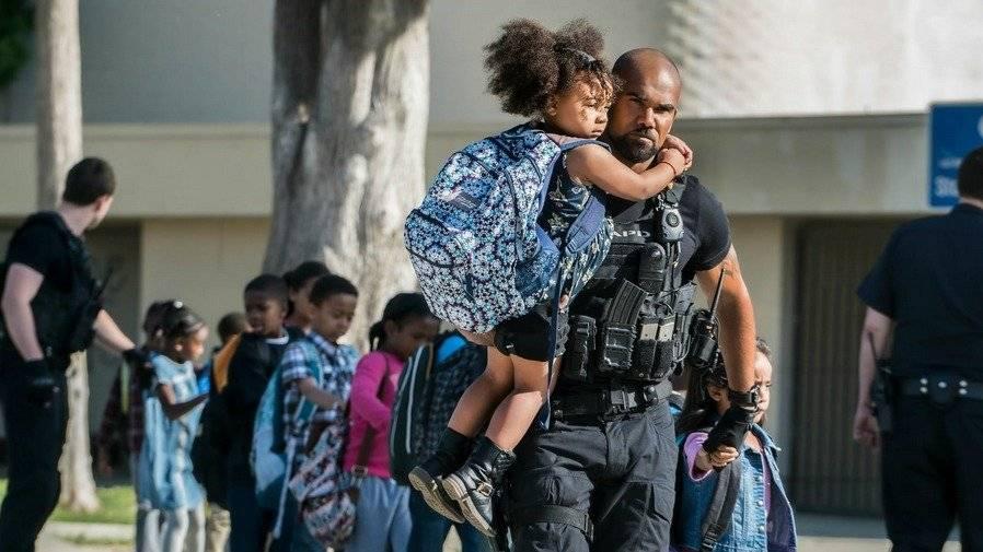 "Shemar Moore interpreta al Sargento II Daniel ""Hondo"" Harrelson, en ""S.W.A.T."". Foto: Fox"