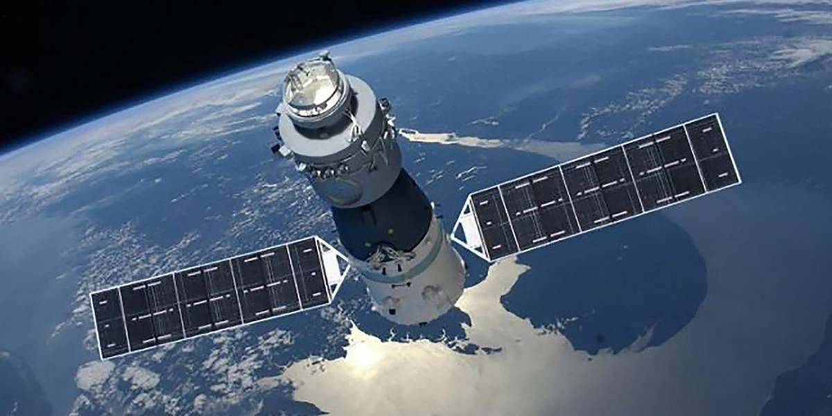 Estação espacial do tamanho de um ônibus pode cair sobre o Brasil nesta semana