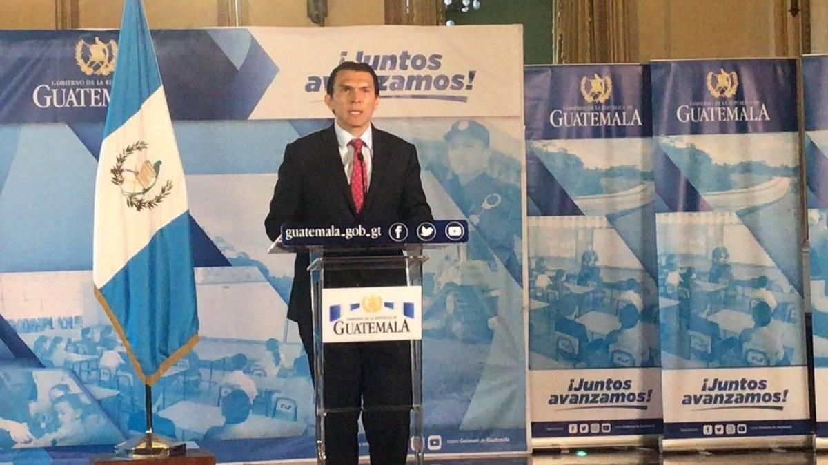 viceministro de Trabajo, Gabriel Aguilera
