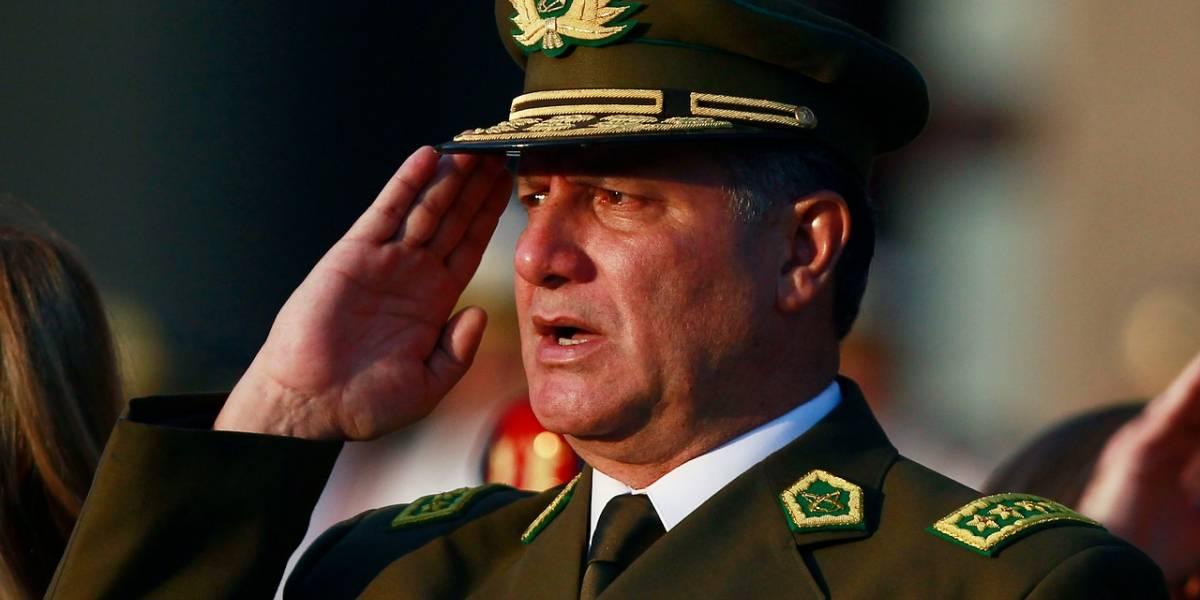 Director General de Carabineros Bruno Villalobos no duró 24 horas con Piñera en La Moneda