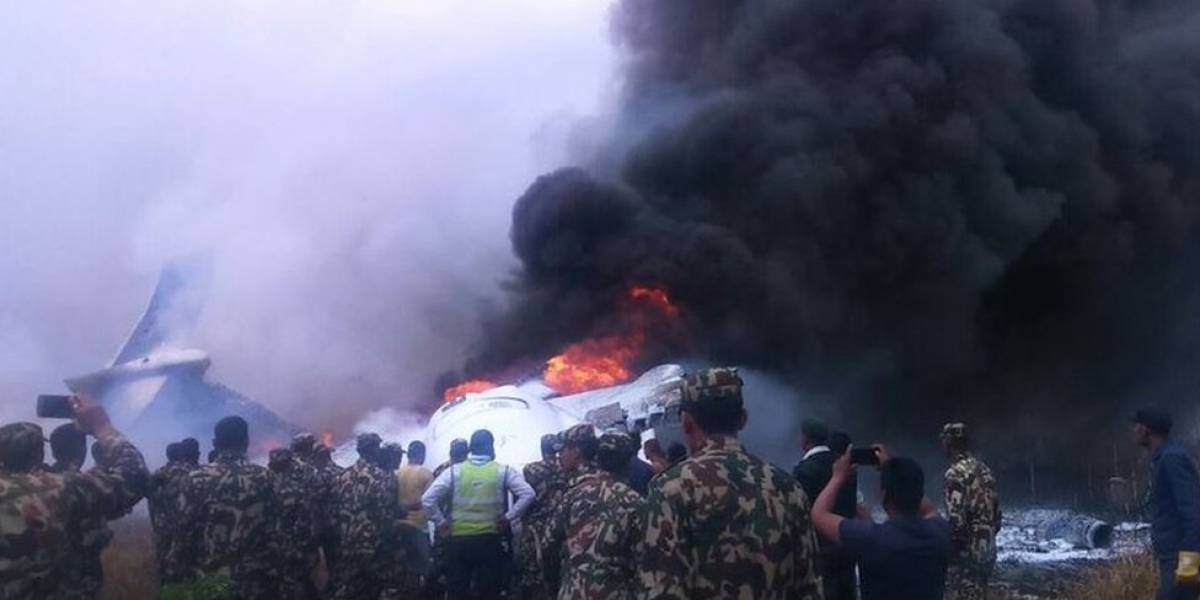 Sobreviventes descrevem horror em acidente durante pouso no Nepal