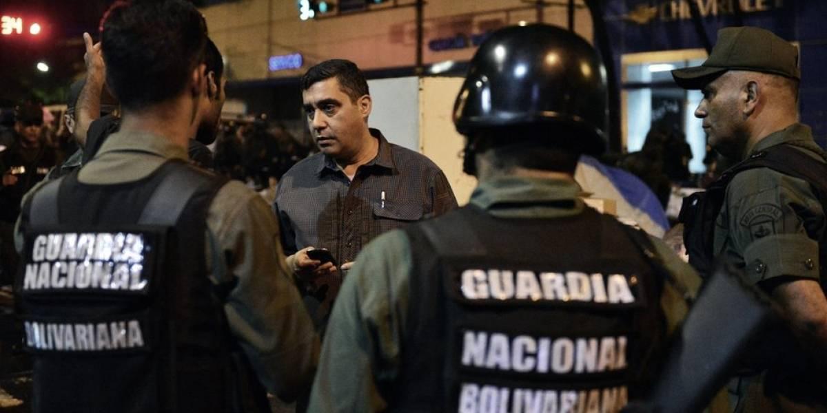 Amenaza de bomba en el Parlamento — Venezuela