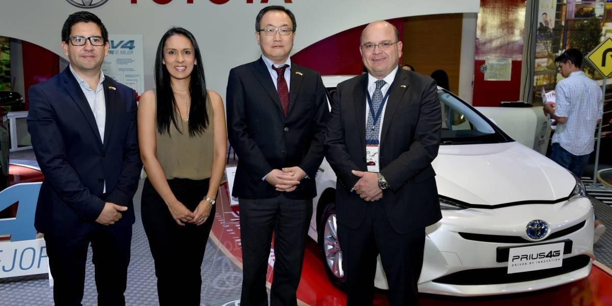 Toyota del Ecuador participó en la feria 'Japón Motor Show'