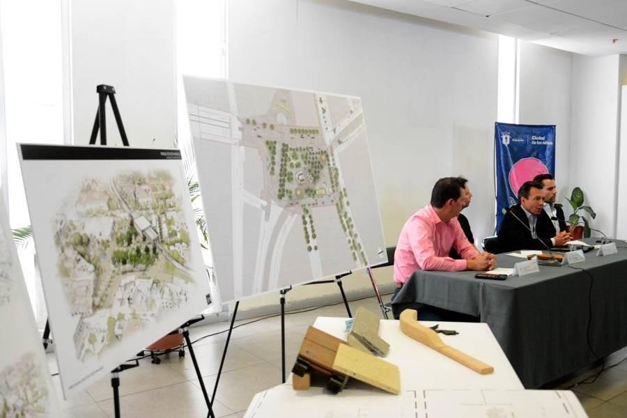 Presentan proyecto final de la plazoleta en la Estación Basílica