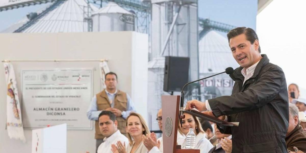 Sólo veo un candidato con honradez, experiencia y honorabilidad: Peña Nieto