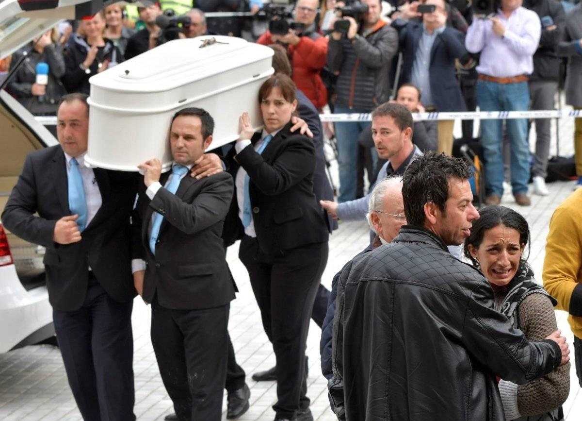 Funeral de Gabriel Cruz EFE