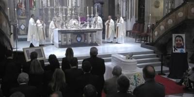 Funeral de Gabriel Cruz