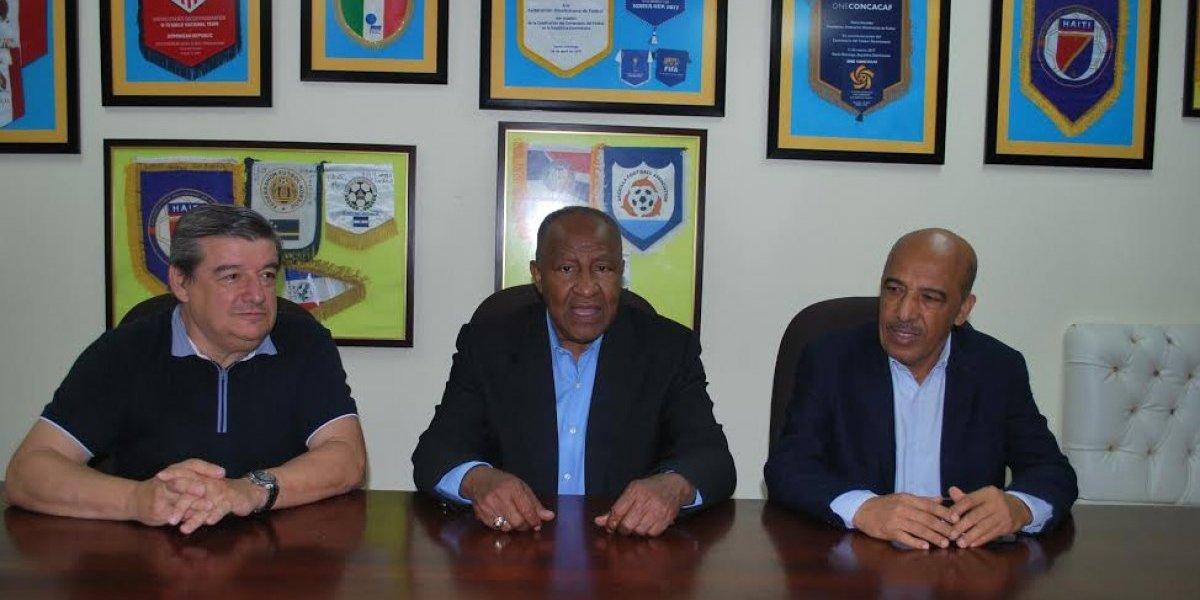 Selección de fútbol de mayores jugará dos partidos amistosos internacionales