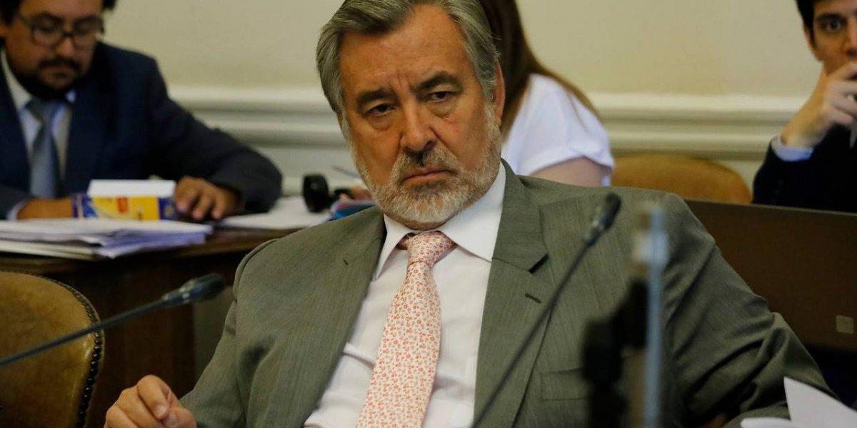 """Alejandro Guillier propone cambiar """"territorio por territorio"""" en aspiración marítima de Bolivia y desata enojo de Ricardo Lagos"""