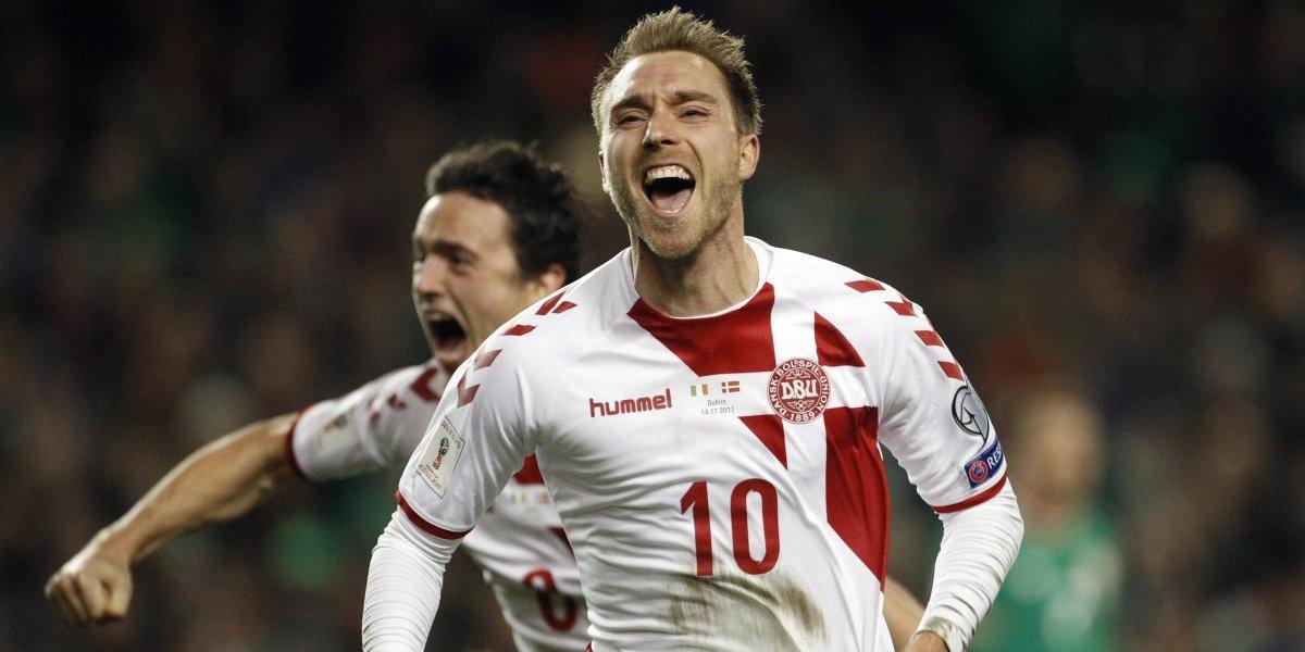 Con todas sus figuras y Eriksen a la cabeza: Dinamarca ya tiene nómina para enfrentar a Chile